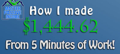 How I made $1,444.62 from 5 Minutes of Work with Property Tax Appeal