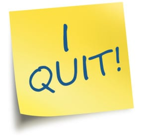 I QUIT BECAUSE I CAN Jobs