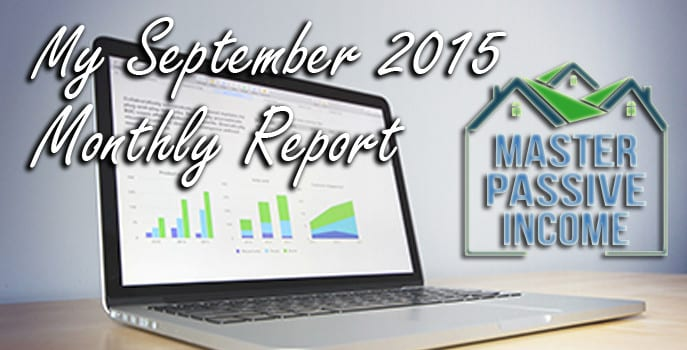 My September 2015 Monthly Report