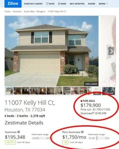 Houston Zillow