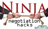 10 Ninja Negotiation Hacks to Build Your Business
