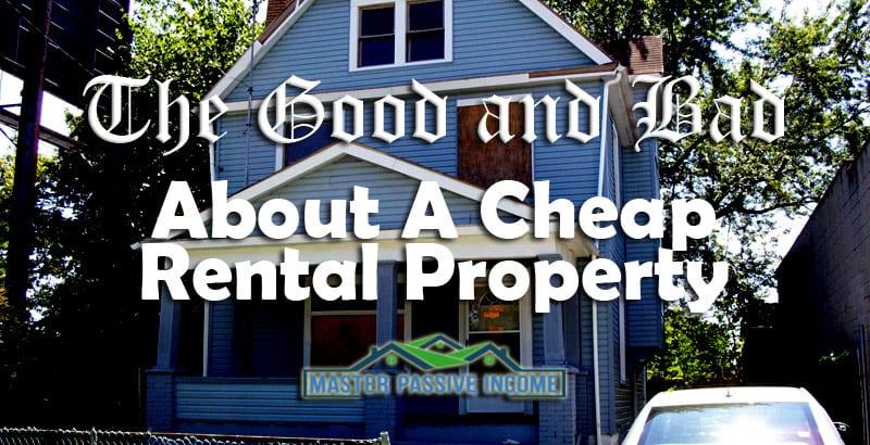 cheap rental property