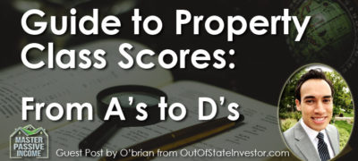 Guide to Property Class Scores: From A's to D's – Guest Post from OB