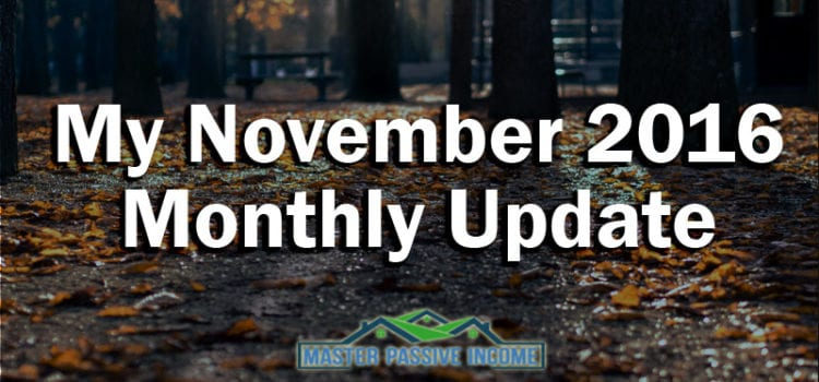 My November 2016 Monthly Update