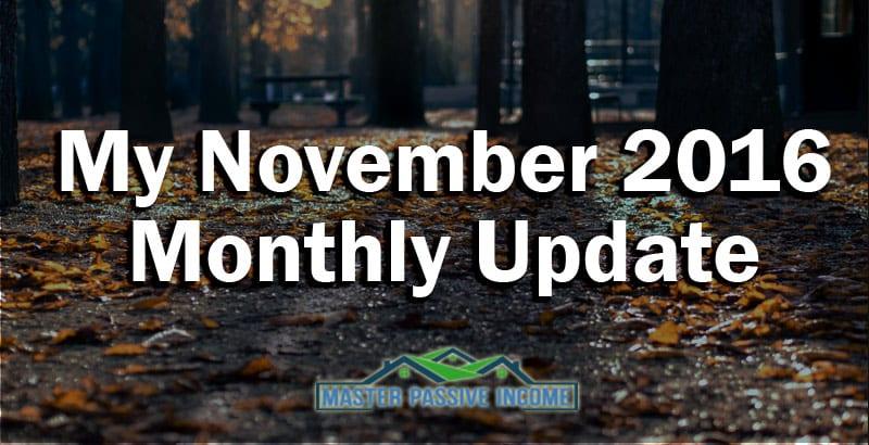November Passive Income Update