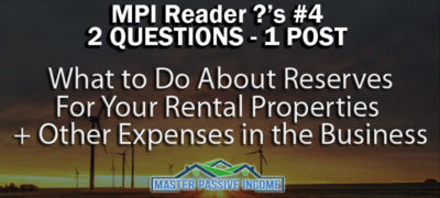 What to Do About Cash Reserves For Your Rental Properties and Other Expenses in the Business