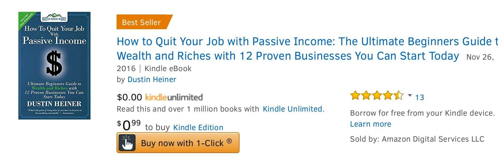 Best Seller Passive Income