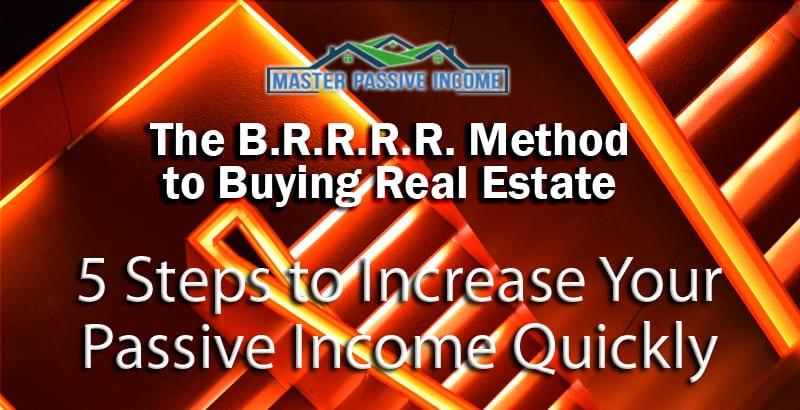 brrrr real estate rental property buying