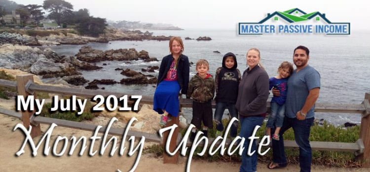 My July 2017 Monthly Update