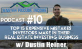 Top 15 Expensive Mistakes Real Estate Investors Make
