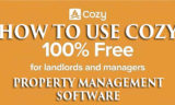 How to Use Cozy for Rent Rental Property Management Software