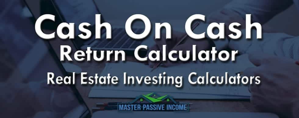 Cash-on-cash-return-calculator