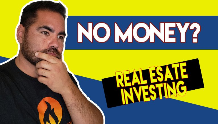 how to invest in real estate with no money