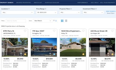 property search portal